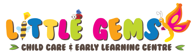Little Gems Childcare & Early Learning Centre, Albany Creek, Jimboomba, Helensvale, Maryborough QLD Logo
